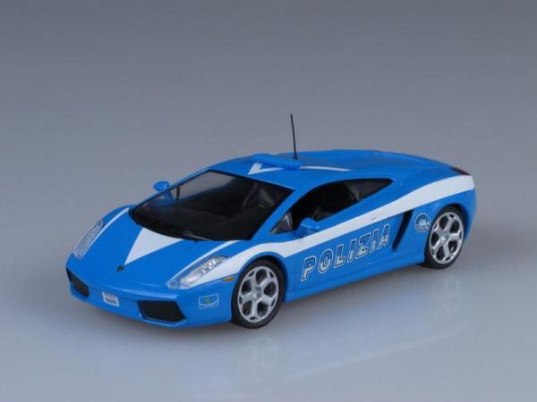 Lamborghini Gallardo, Полиция Италии (DeAgostini (Полицейские машины мира)) [2003г., Синий, 1:43]