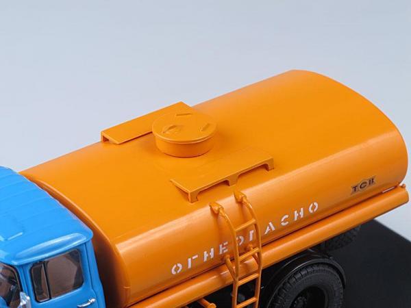 ТСВ-6 (ЗИЛ-130) (Start Scale Models (SSM)) [1974г., Голубая кабина и оранжевая цистерна, 1:43]