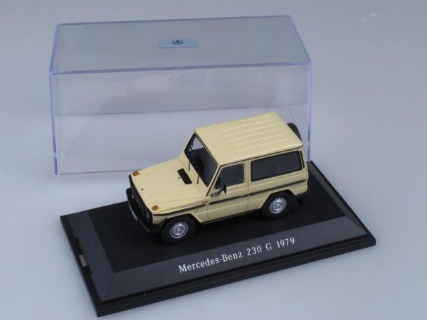 Mercedes-Benz 230 G (Spark) [1979г., Кремовый, 1:43]