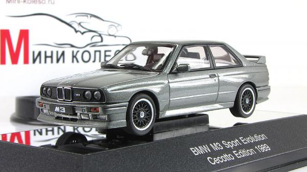 BMW M3 Sport Evolution (Autoart) [1990г., Серебристый, 1:43]