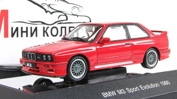 BMW M3 Sport Evolution (Autoart) [1990г., Красный, 1:43]