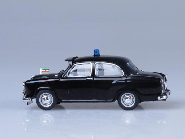 Hindustan Ambassador, Полиция Индии (DeAgostini (Полицейские машины мира)) [1958г., Черный, 1:43]