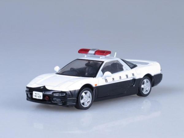 Honda NSX, Полиция Японии (DeAgostini (Полицейские машины мира)) [1990г., Белый и черный, 1:43]