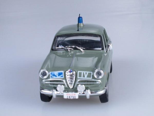 Alfa Romeo Giulietta, Полиция Италии (DeAgostini (Полицейские машины мира)) [1954г., Серо-зеленый, 1:43]