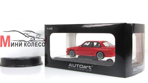 BMW M3 Sport Evolution (Autoart) [1990г., Красный, 1:43]