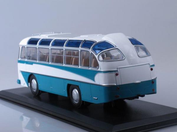 ЛАЗ-697Е Турист (Classicbus) [1961г., Белый и морская волна, 1:43]
