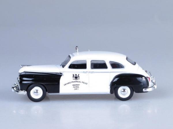 Chrysler De Soto, Полиция Канады (DeAgostini (Полицейские машины мира)) [1950г., Черный и белый, 1:43]