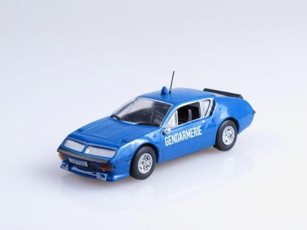 Alpine Renault A310, Французская жандармерия (DeAgostini (Полицейские машины мира)) [1965г., Синий, 1:43]