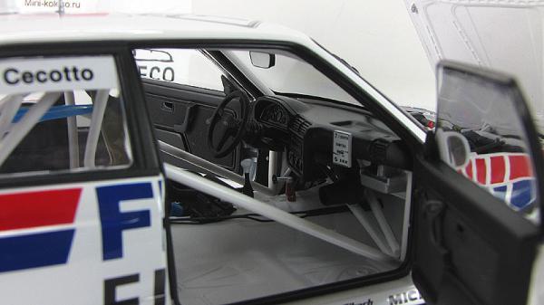 "BMW M3 DTM 1992 ""FINA"" C.CECOTTO #7 (Autoart) [1982г., Белый, 1:18]"