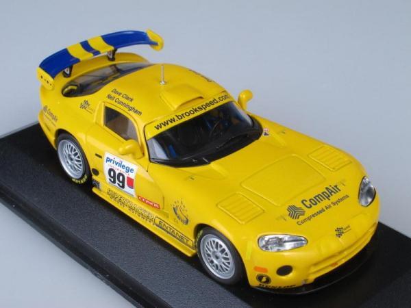 Dodge Viper GTS-R No.99, British GTC Clark/Cunningham 1999 (Minichamps) [1999г., Желтый, 1:43]