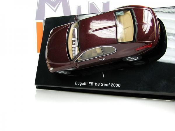 BUGATTI EB118 (Autoart) [2000г., Бордовый, 1:43]