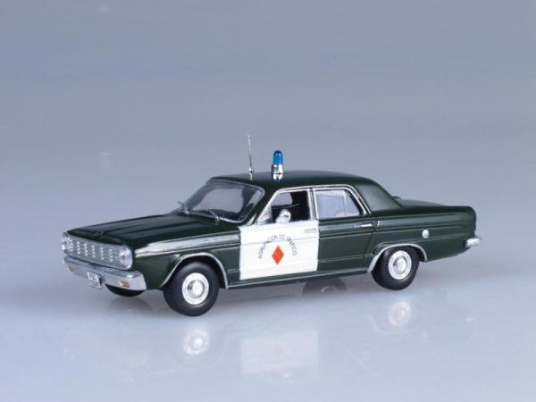 Dodge Dart, Полиция Испании (DeAgostini (Полицейские машины мира)) [1963г., Темно-зеленый и белый, 1:43]