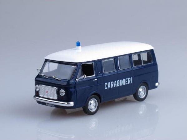 Fiat 238 Carabinieri, Полиция Италии (DeAgostini (Полицейские машины мира)) [1967г., Темно-синий и белый, 1:43]