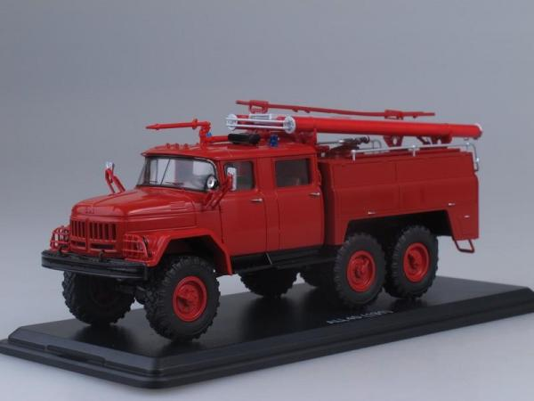 АЦ-40 (ЗиЛ-131)-137 (Start Scale Models (SSM)) [1970г., Красный, 1:43]