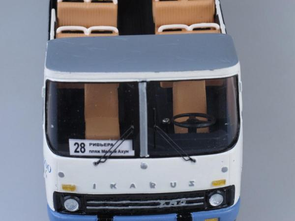 Икарус 252 кабрио (Vector-Models) [1980г., Белый, 1:43]