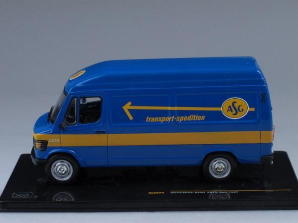 Mercedes-Benz 207D Van «ASG» (IXO) [1987г., Голубой и желтый, 1:43]