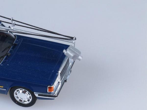 ЗИЛ 4104 кран-манипулятор (Vector-Models) [1978г., Синий, 1:43]