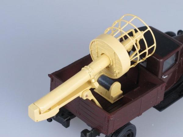 ТВГ-11 (АА) автовышка (Vector-Models) [1932г., Темно-бордовый, 1:43]