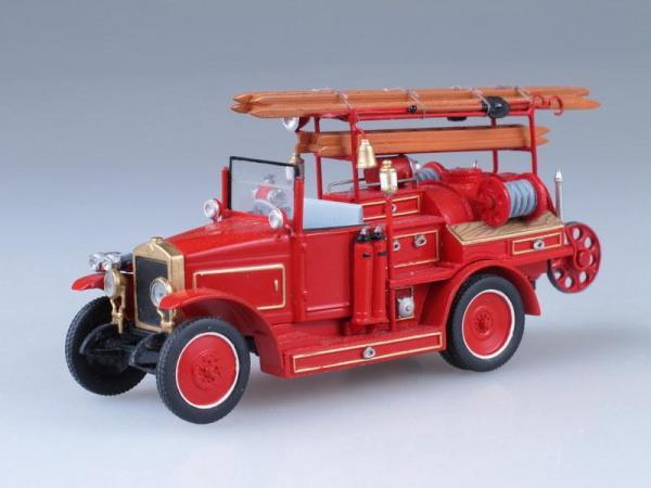АМО Ф-15 пожарная цистерна (Vector-Models) [1824г., Красный, 1:43]
