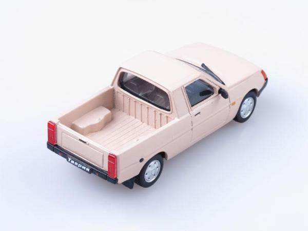 ЗАЗ-11055 Таврия, пикап открытый (Vector-Models) [1987г., Бежевый, 1:43]