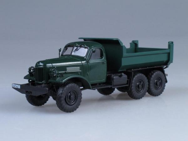 ЗИЛ-ММЗ-4510(157К) самосвал (Vector-Models) [1961г., Темно-зеленый, 1:43]