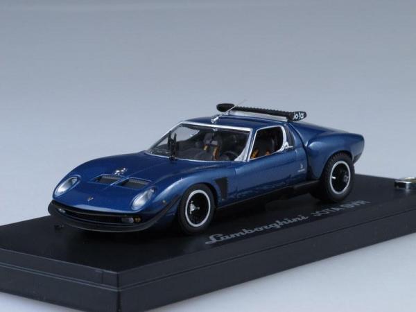 Lamborghini Jota SVR (Kyosho) [1978г., Темно-синий металлик, 1:43]