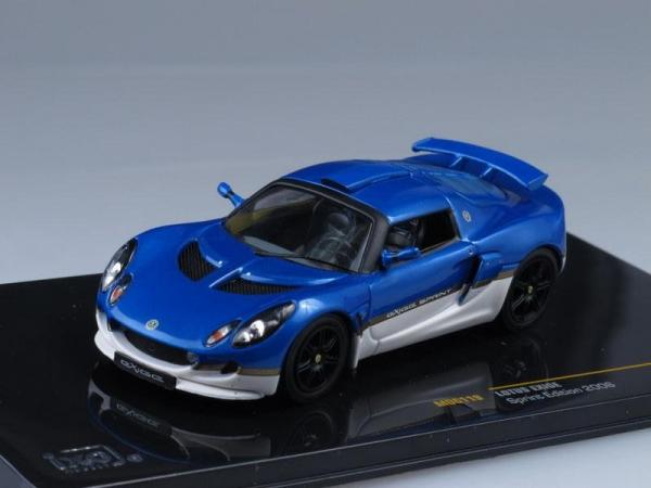 LOTUS EXIGE Sprint Edition (IXO) [2006г., Синий, 1:43]
