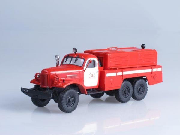 ПНС-100 (157К) насос (двухцветный) (Vector-Models) [1958г., Красный, 1:43]