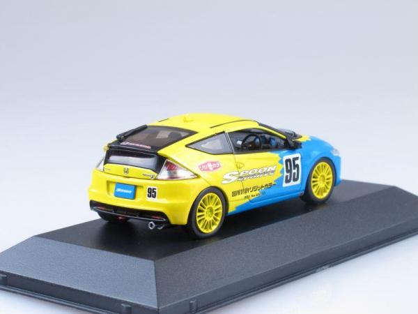 Honda CR-Z - SPOON Version №95 (J-collection) [2011г., Голубой и желтый, 1:43]