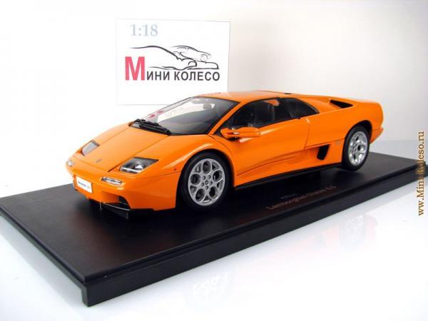 LAMBORGHINI DIABLO 6.0 (Autoart) [2000г., Оранжевый, 1:18]