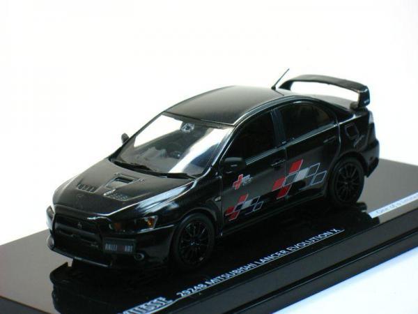Mitsubishi Lancer Evo X Ralliart (Vitesse) [2007г., Черный, 1:43]