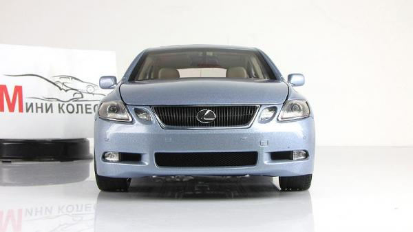 LEXUS GS450 H (Autoart) [2006г., Голубой, 1:18]