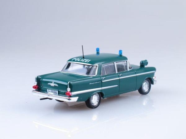 Opel Kapitan, Полиция Германии (DeAgostini (Полицейские машины мира)) [1960г., Зеленый, 1:43]