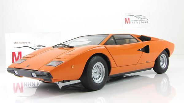 LAMBORGHINI COUNTACH LP400 (Autoart) [1974г., Оранжевый, 1:18]