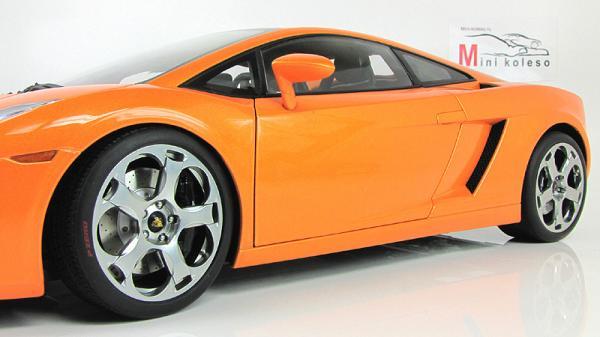LAMBORGHINI GALLARDO (Autoart) [2003г., Оранжевый, 1:12]