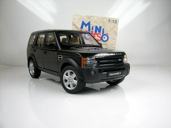 LAND ROVER DISCOVERY 3 (Autoart) [2005г., темно зеленый, 1:18]