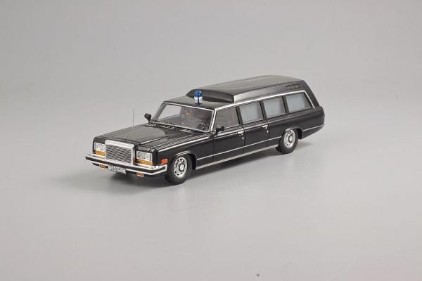 ЗИЛ-41042 Скорая помощь (DiP Models) [1978г., Черный, 1:43]