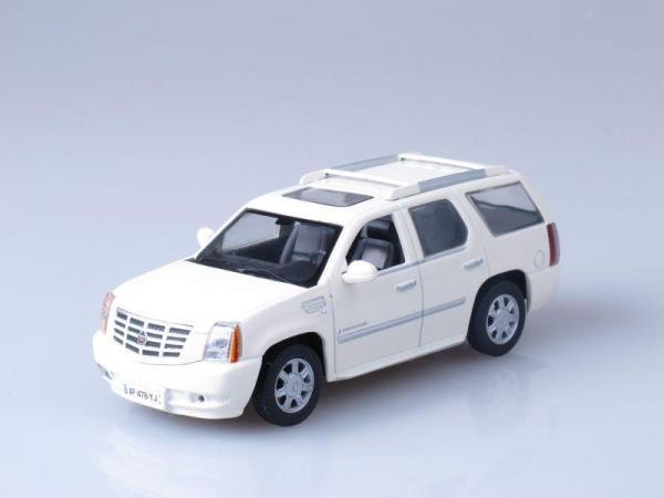 Cadillac Escalade (DeAgostini (Суперкары мира)) [2009г., Белый, 1:43]