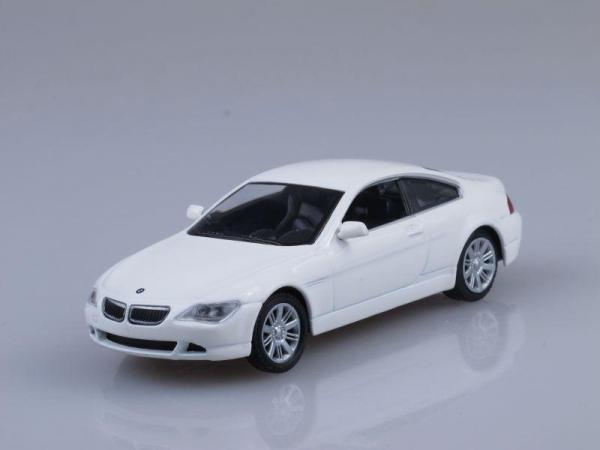 BMW 645 Сi Coupe (DeAgostini (Суперкары мира)) [2004г., Белый, 1:43]