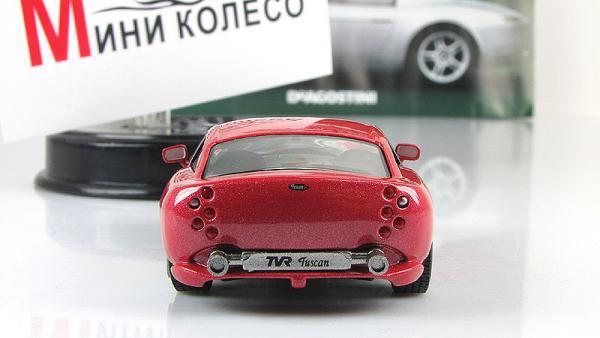 TVR Tuscan T440R (DeAgostini (Суперкары мира)) [1999г., Коралловый металлик, 1:43]