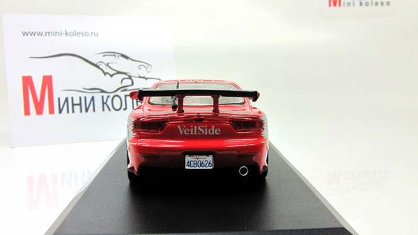 """Mazda RX-7 из кинофильма """"Форсаж"""" (Greenlight) [1993г., Красный, 1:43]"""