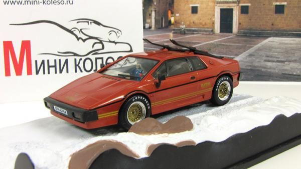 LOTUS ESPRIT Turbo For Your Eyes Only 1981 (Atlas/IXO) [1981г., Оранжевый, 1:43]