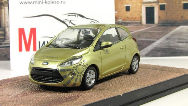 "FORD KA ""Quantum of Solace (Atlas/IXO) [2008г., Золотистый, 1:43]"