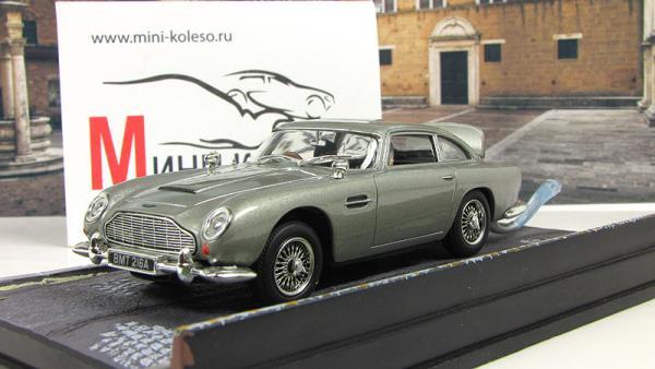 """Aston Martin DB5 """"Thunderball"""" 1965 Silver (Atlas/IXO) [1965г., Серебристый, 1:43]"""