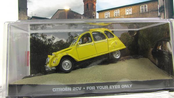 Citroen 2CV For Your Eyes Only 1981 Yellow (Atlas/IXO) [1981г., Желтый, 1:43]
