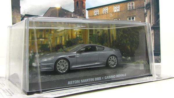 """Aston Martin DBS """"Casino Royale"""" 2006 Grey Metallic (Atlas/IXO) [2006г., Серый, 1:43]"""