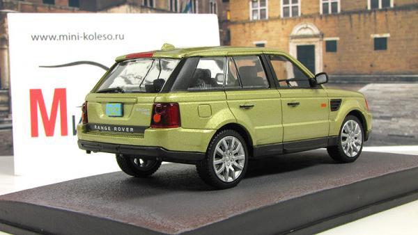 Range Rover Sport Casino Royale 2006 Metallic Gold (Atlas/IXO) [2006г., Золотистый, 1:43]