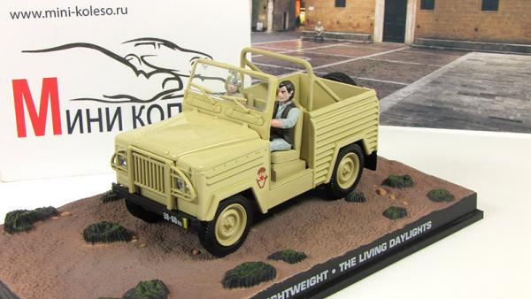 LAND ROVER Lightweight The Living Daylights 1987 Beige (Atlas/IXO) [1987г., бежевый, 1:43]