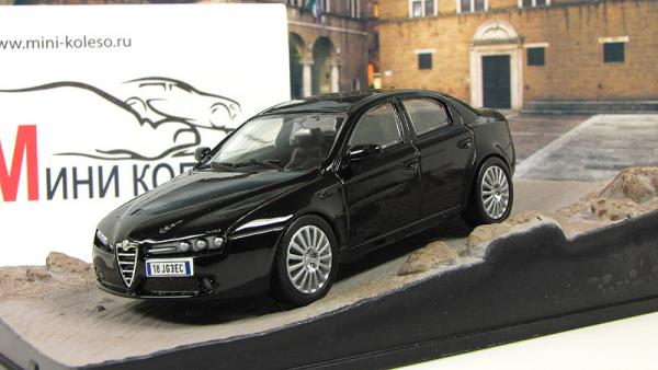 ALFA ROMEO 159 Quantum of Solace (Atlas/IXO) [2008г., Черный, 1:43]