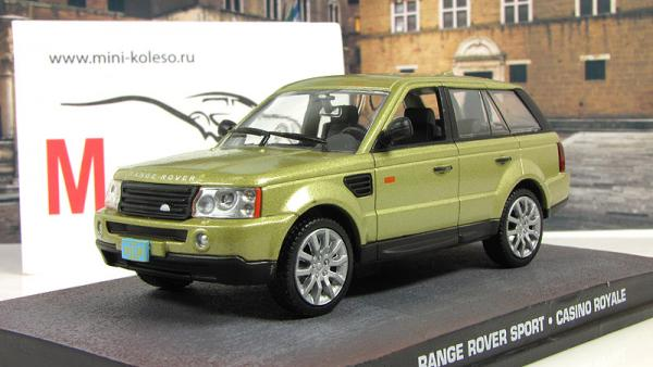 Range Rover Sport Casino Royale 2006 Metallic Gold (Atlas/IXO) [2006г., Золотистый, 1:43]